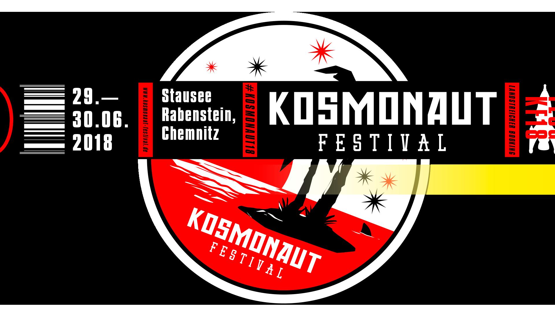 Kosmonaut Festival | 29.06. & 30.06.2018 Stausee Rabenstein, Chemnitz